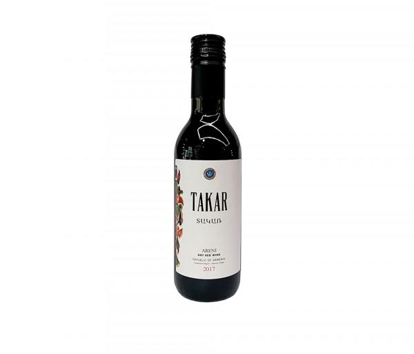 Գինի «Takar» Արենի կարմիր, անապակ 0.187լ