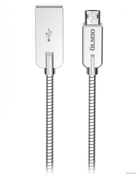 Մալուխ STEELY USB 2.0 - microUSB 1.2մ