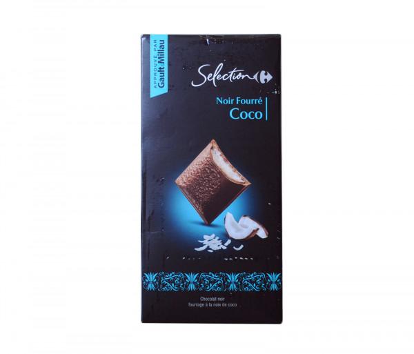 Քարֆուր Մուգ շոկոլադ կոկոսի միջուկով 125գ