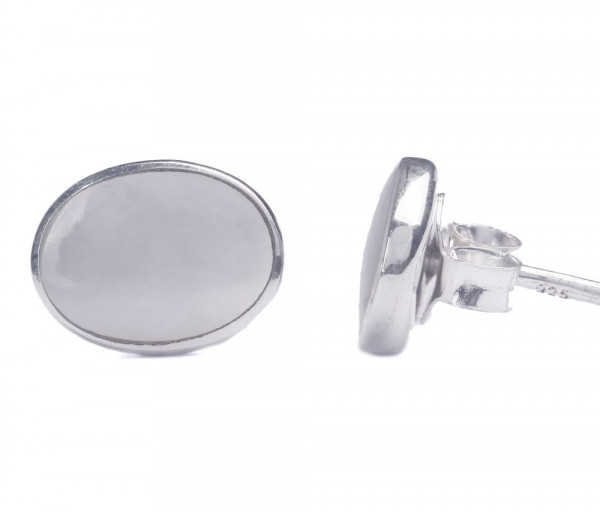 Silver earrings SE255W