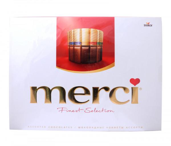 Մերսի Գրոսսե Շոկոլադե կոնֆետների հավաքածու 675գ