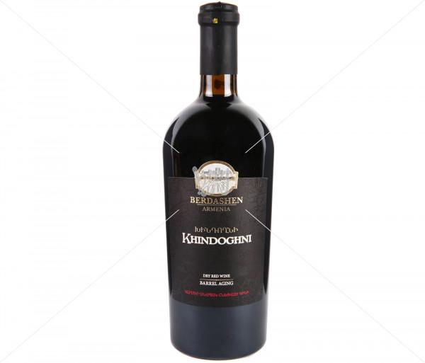 Գինի «Բերդաշեն, Խնդողնի», չոր, հնեցված 0.75լ