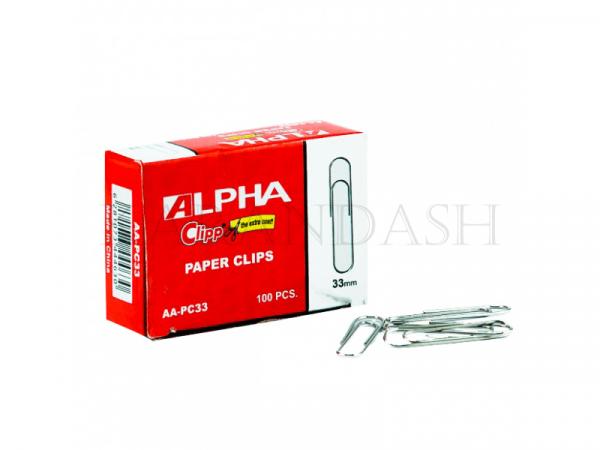 Ամրակներ թղթերի համար Alpha AA PC33 33մմ