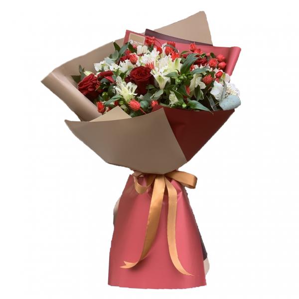Ծաղկեփունջ «Caprichoso» My Rose