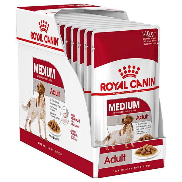 Շան խոնավ կեր Medium adult gravy 10 x 140 գ