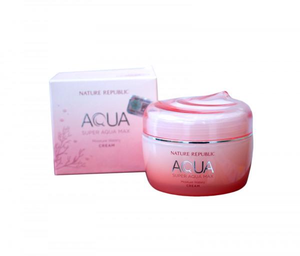 Դեմքի քսուք չոր մաշկի համար «Aqua Moisture Watery» Nature Republic 80մլ