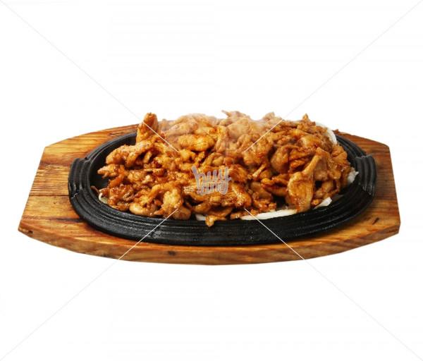 Հավի միս թավայում Սուշի Կուշի