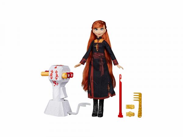 Hasbro Մուլտհերոսուհու Արձանիկ Frozen II «Աննան՝ Մազերի Հարդարման Պարագաներով»