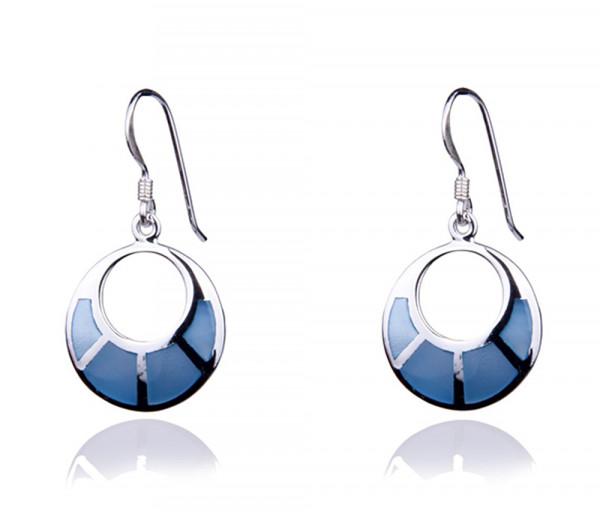 Silver earrings SE041B
