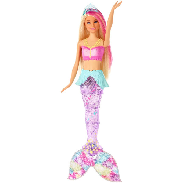 Ջրահարս ծիածանափայլ պոչով Barbie
