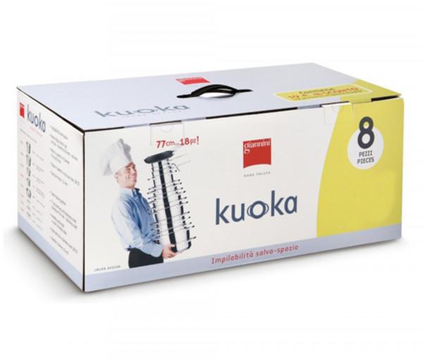 Կաթսաների հավաքածու Kuoka Giannini 8 կտոր