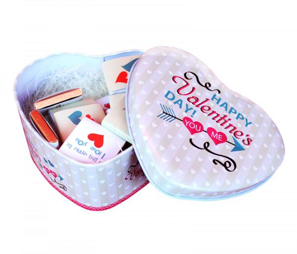 Շոկոլադե սալիկների հավաքածու «Happy Valentine's Day» 120գ Gourmet Dourme