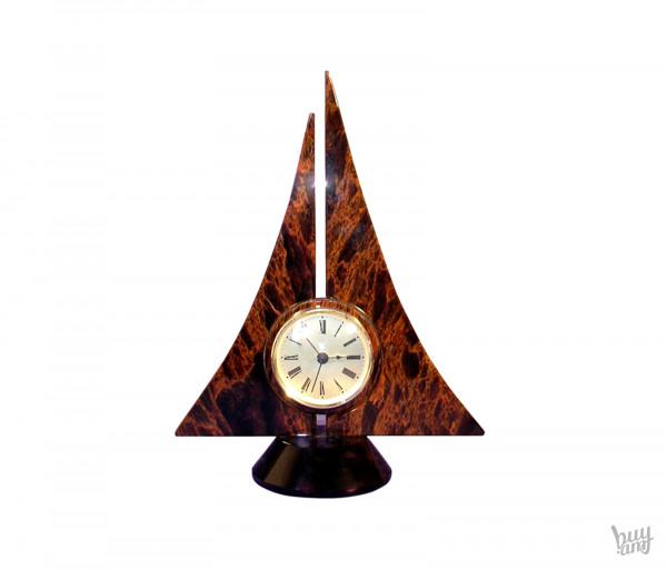 Սեղանի ժամացույց օբսիդիան «Առագաստ»