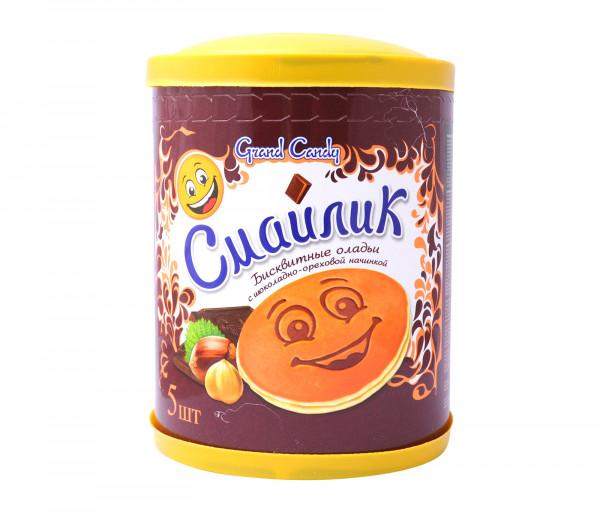 Գրանդ Քենդի Սմայլիկ Շոկոլադ-Ընկույզ 200գ