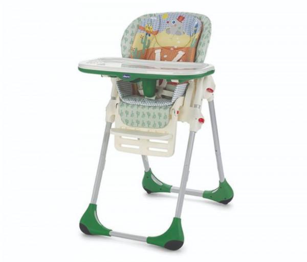 Կերակրման աթոռ Polly 2 in 1, 6 ամսական+, Մինչև 15 կգ Բաց կանաչ 405582CH