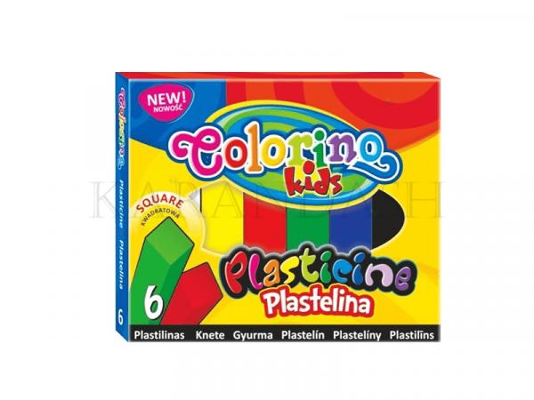 Ծեփամածիկի հավաքածու Colorino Kids 57400PTR 6 գույն