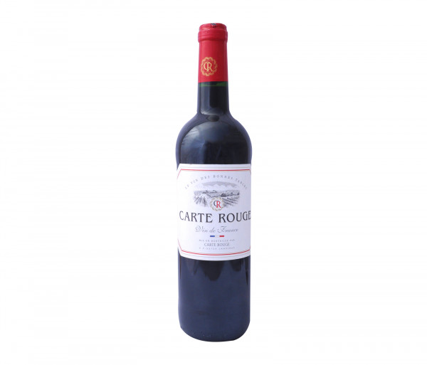 Քարֆուր Կարմիր գինի Կալվե Կարտ Ռուժ 0.75լ