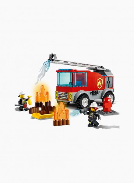 Կառուցողական խաղ City «Հրշեջ մեքենա՝ սանդուղքով»