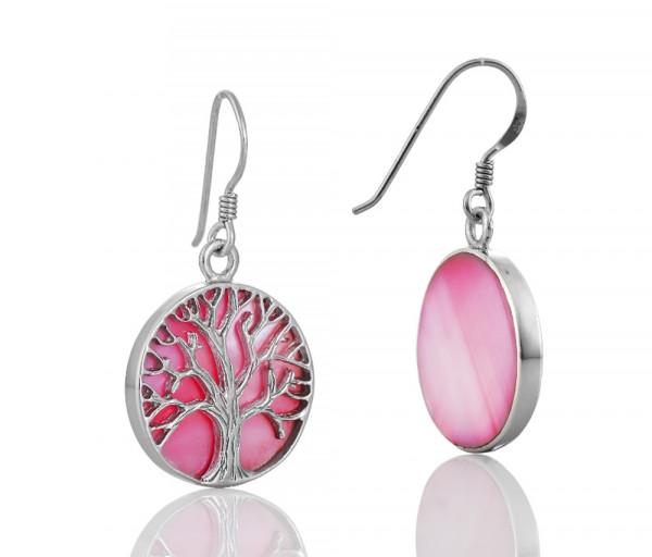 Silver earrings SE110P