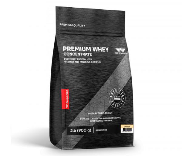 Premium Whey Concentrate 900g Vanilla
