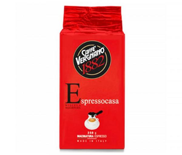 Ground coffee Espressocasa 250g Caffe Vergnano