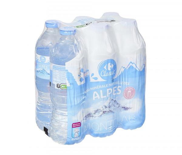 Քարֆուր Ալպյան Ջուր 6x0.5լ