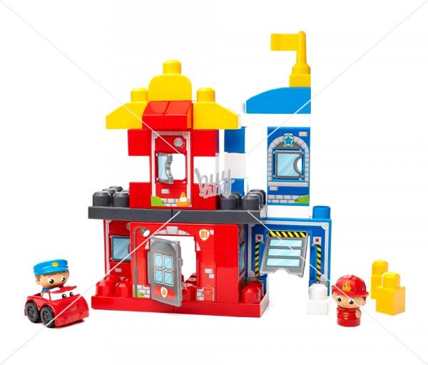 Կոնստրուկտորների հավաքածու «Փրկարար ջոկատ» Mega Bloks First Builders