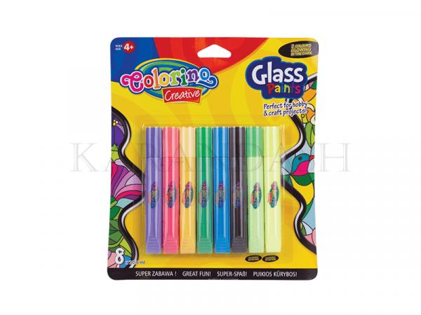 Վիտրաժային ներկերի հավաքածու Colorino Kids 68949PTR 8 գույն