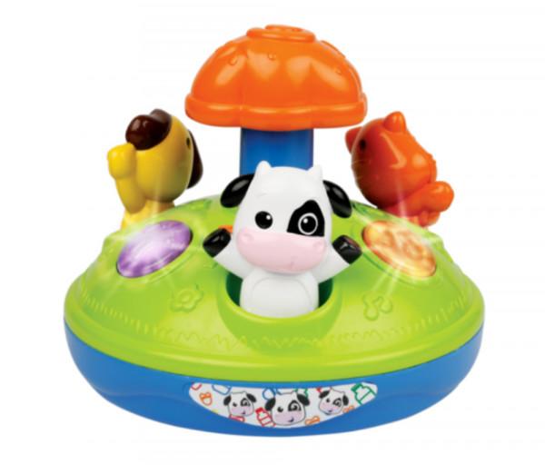Պտտվող ձայնային խաղալիք՝ կենդնանիների հավաքածու 539596EL