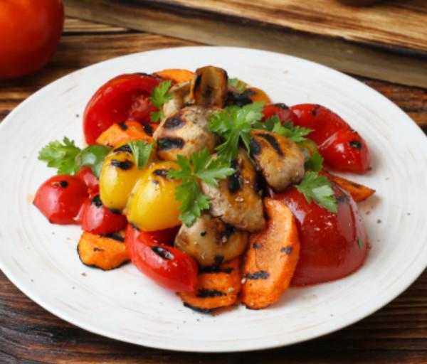 Գրիլ արված բանջարեղեն Կարաս