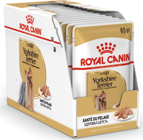 Շան խոնավ կեր Yorkshire terrier 12 x 85 գ