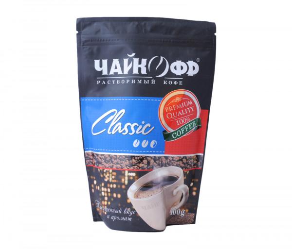 Չայկոֆֆ Կլասիկ Լուծվող սուրճ 100գ