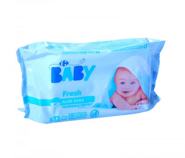 Carrefour Baby wet wipes Fresh x72