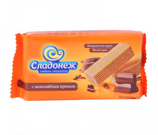 Սլադոնեժ Վաֆլի շոկոլադե կրեմով 170գ
