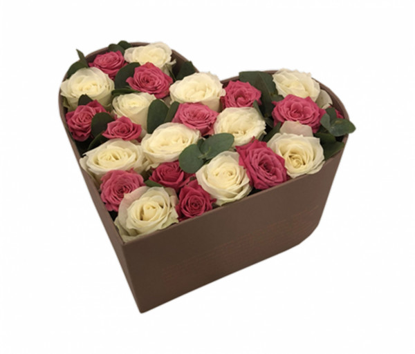 Ծաղկեփունջ «La época mejor» My Rose