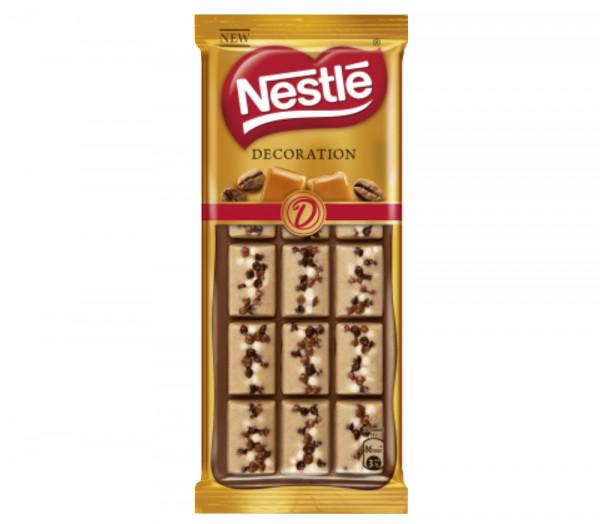 Նեսթլե Դեկորացիա Շոկոլադ Կարամել և սուրճ 80գ