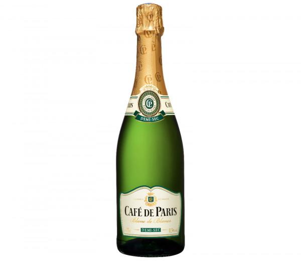 Շամպայն Cafe de Paris Blanc de Blancs Demi-Sec 0.75 լ
