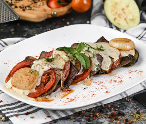 Հորթի միս բանջարեղենով Segafredo