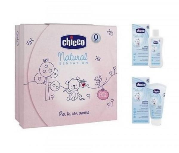 Gift Set Nat Sens Girl Small 404423CH