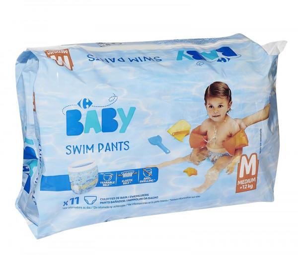 Քարֆուր Մանկական տակդիր լողանալու համար Մեդիում x12