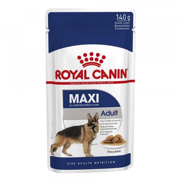 Շան խոնավ կեր Maxi adult gravy 10 x 140 գ