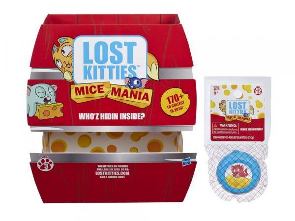 Hasbro Lost Kitties Խաղային Հավաքածու «Mice Mania»