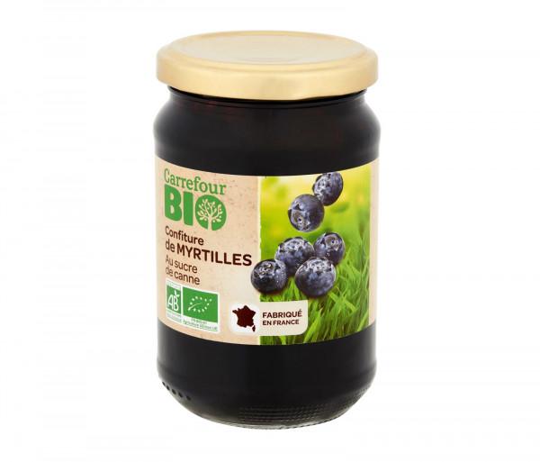 Carrefour Bio Blueberry Jam 360g