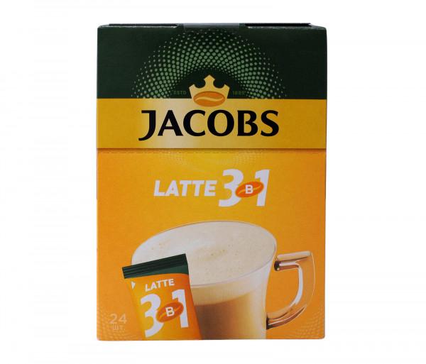 Յակոբս 3 / 1 Սուրճ Լատտե 14.8գx24