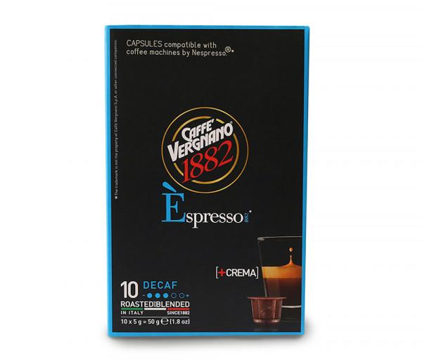 Դեկաֆեին կապսուլաներ (10 հատ) Caffe Vergnano