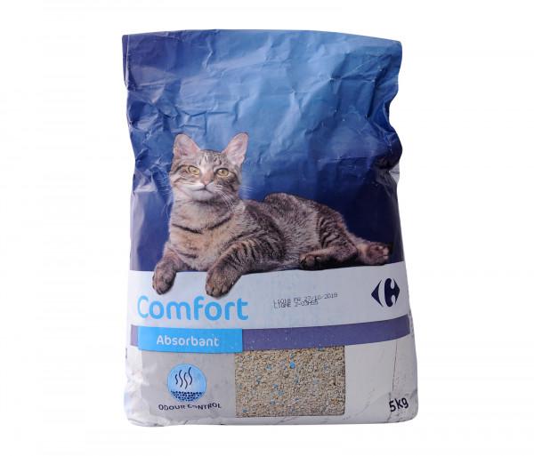 Քարֆուր Լցանյութ կատուների զուգարանի համար 5կգ