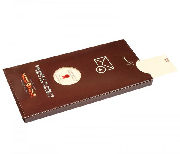 Շոկոլադե բացիկ «Շատ յուրահատուկ մարդու համար» Gourmet Dourme