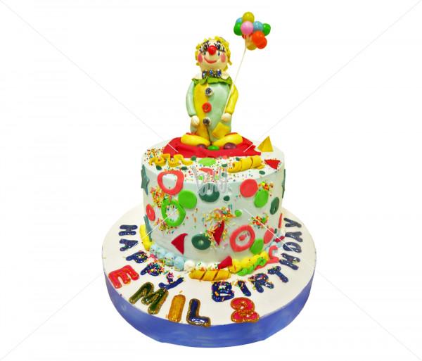 Տորթ «Ծաղրածու» Kalabok Cake
