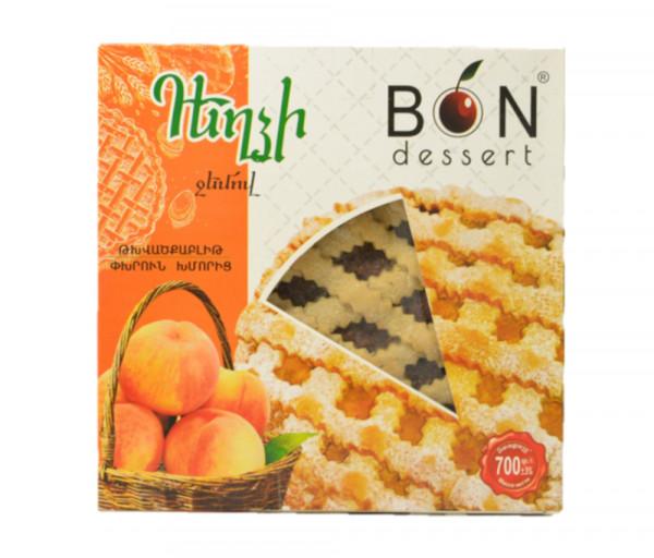 Bon Dessert Biscuits with peach jam 700g