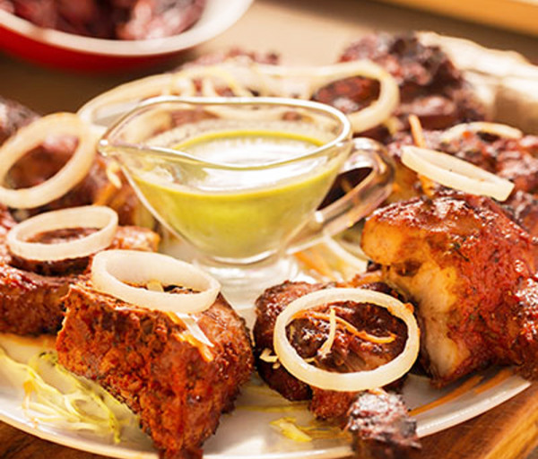 Թոնրի հավ (ամբողջական) Կառմա Հնդկական Ռեստորան